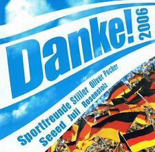 DANKE 2006 CD NEU Seeed Juli Rosenstolz Naidoo Sportfreunde Stiller Revolverheld