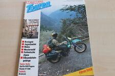 151768) Honda VT 500 - Aprilia 600 Pegaso - Motorrad Touren 03/1991