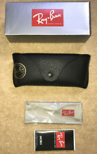Ray Ban Black Sunglasses Case Cloth, Leaflet & Box Included
