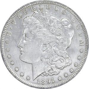 Early - 1891-O Morgan Silver Dollar - 90% US Coin *277