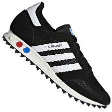 Adidas Originals La Trainer Zapatillas CQ2277 Deporte para Correr Negro Blanco