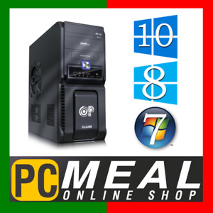 INTEL 6-Core i7 8700 Max 4.6GHz DESKTOP COMPUTER 1TB 8GB DDR4 HDMI Hex Gaming PC