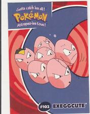 DANONE 2000 - POKEMON CARD EXEGGCUTE # 102
