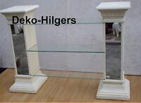Regal TV Spiegel Säule Säulenregal Säulen Exklusiv Dekoration Möbel 1838 F70