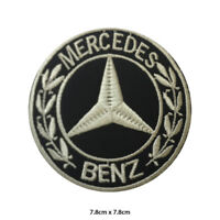 Mercedes Benz Car Brand Logo Embroidered Patch Iron on Sew On Badge