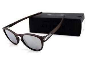 NEW Genuine OAKLEY LATCH Matte Corten Chrome Iridium Sunglasses OO 9265 43 53 3N