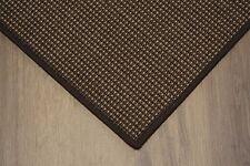 sisal Tapis Surfilé motifs café 170x240cm 100% sisal marron boucle