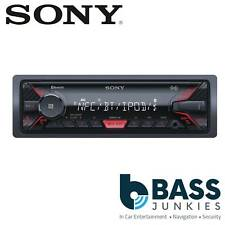 Sony DSX-A400BT Single Din AUX USB MP3 iPhone iPod Bluetooth Mechless Car Stereo