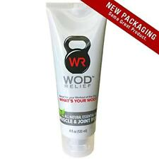 Wod Relief Muscle/Joint Rub/All-Natural Essential Oil Pain Relief Cream Extra St