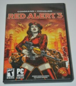 Command & Conquer: Red Alert 3 Complete in Box w/ Manual and CD Key