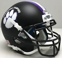 CLEMSON TIGERS 2018 NATIONAL CHAMPIONS Schutt XP Authentic MINI Football Helmet