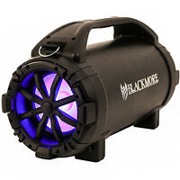 Blackmore Portable Amplified Bluetooth Speaker - Black
