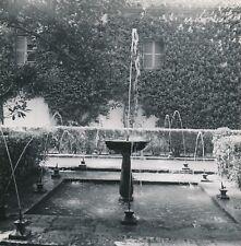 GRENADE c. 1950 - Fontaine Jeux d'Eau Jardin Le Généralife Espagne - Div 11850