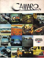 CHEVROLET Camaro LT SPORT 1974-75 original usa brochure pub. n ° 3011