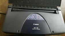 Canon BJC 85. K10190 Bubble Jet Color Mobile Injet Printer Portable
