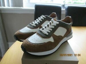 Mens Bnwob Massimo Dutti Extralight Leather/ Suede  Shoes  Size 10.5 / 45