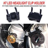 2x H7 LED Bulb Lamp Holder Adapter Socket For Ford Focus Land Rover Fiat 500 AU