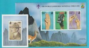Ghana From 1998 Mint Michel Number 2871-2873 Sheetlet Block 366 Path Finder