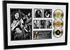 NEW BOB MARLEY SIGNED LIMITED EDITION FRAMED MEMORABILIA