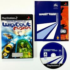Sony PlayStation 2 WIPEOUT FUSION dt. PAL Ovp Antigrav Racing/Orbital/Psygnosis