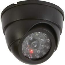 Mini Dummy Home SECURITY LED DOME CAMERA Fake Surveillance CCTV Flashing Light
