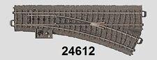 MÄRKLIN H0 24612C PISTA cambiavía DERECHO NUEVO + emb.orig
