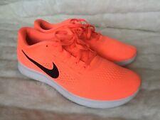 Nike Free RN Women's Size 10 Running Jogging Bright Mango Black Sneakers