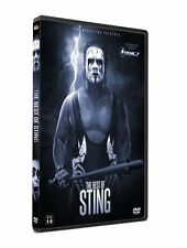 """Official TNA Impact Wrestling The Best of """"The Icon"""" Sting 2015 DVD"""
