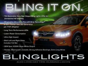 BlingLights LED DRL Head Light Strips Daytime Running Lamps for Subaru Crosstrek