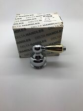DELTA H15CB FAUCET HANDLE POLISHED CHROME BRASS OLD STOCK OEM NEW