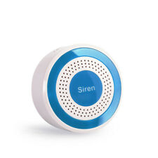 Indoor Strobe Siren for Home Alarm System 433Mhz Usb Charging