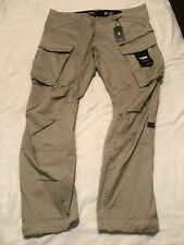 G star raw Rovic 3D Tapered Trousers 38w Beige