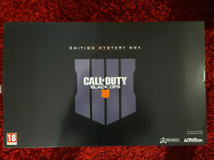 black ops 4 édition collector mystery  neuf scellé xbox one