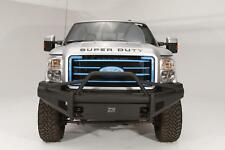 Fab Fours Black Steel Elite Pre-Runner Bumpr For 08-10 Ford F-250/350/450/550 SD