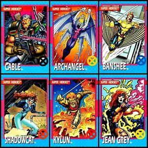 1992 Impel Marvel X-Men Series 1 *YOU CHOOSE* Trading Card Vintage Skybox