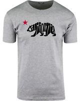 ShirtBANC California Letters State Bear Mens T Shirts Cali Love Surfer Skater