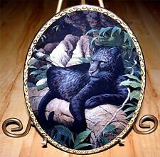 Guardians Of The Wild, Majesty Black Jaguar, Bradford Exchange Plate