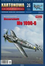 Deutsch Zweiter Weltkrieg Jagdflugzeug Messerschmitt Me 109G-6 Masstab 1:33 KK26