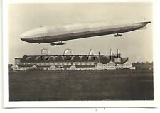 WWI Org German Real Photo- Cigarette Card- Zeppelin- Navy Airship LZ 9- 1915