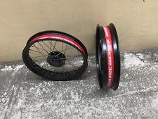 """17"""" Rim Strip Strap Inner Tube Spoke Cover Motorcycle Supermoto"""