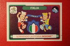 Panini EURO 2012 N. 39 ITALIA  NEW With BLACK BACK TOPMINT!!