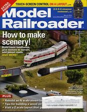 Model Railroader Magazine March 2015 Touch-Screen Control on a Layout!