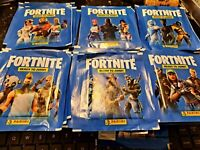 LOT OF 10 - Panini Fortnite Ready to Jump Stickers Unopened Pack Brand New 2020