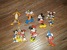 7 Disney Disneyland Mickey Mouse and Gang Refrigerator Magnets Minnie Goofy