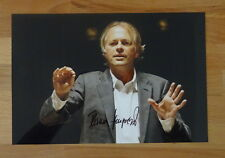 ORIGINAL Autogramm von Thomas Hengelbrock. pers. gesammelt u. 100 % ECHT. GROSS