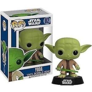 Funko - Star Wars Yoda Pop! Vinyl Figure Bobble Head #02 Vinyl Action Figure New