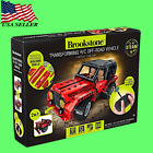 Brookstone TRANSFORMING Remotre Control R/C Off-Road Vehicle CONSTRUCT YOUR OWN
