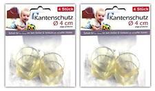 8 Stück Tischkantenschutz transparent | Kinder Baby Ecken und Kantenschutz