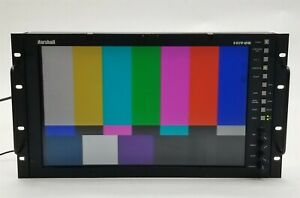 "Marshall V-R171P-AFHD 17"" LCD Studio Video Monitor Rackmount w/Power Supply"