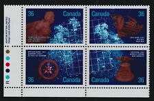 1987 Canada SC# 1144a LL - Shipwrecks - Plate Block M-NH Lot# 1899c